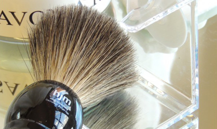 Don't forget the shaving brushes !